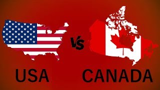 Which country is better to live in: USA or Canada?