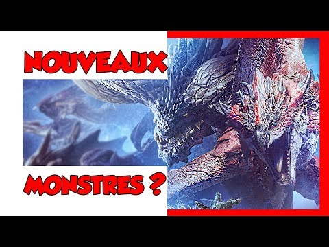 MONSTER HUNTER ICEBORNE - NOUVEAU MONSTRE ??? thumbnail