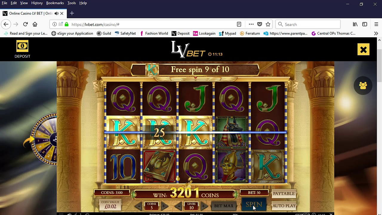 Online Casino Lv Bet Online Slots And Live Casino Games Mozilla Firefox 29 07 2018 11 12 48 Youtube