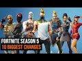 Download 10 Biggest Changes In Fortnite Season 5