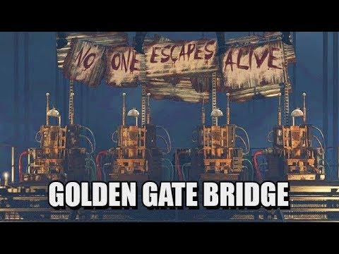 CALL OF DUTY BLACK OPS 2 Zombie Mode Gameplay - Golden Gate Bridge