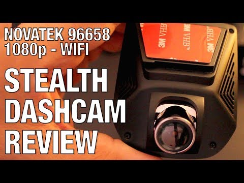 STEALTH DASH CAM REVIEW 1080p NOVATEK + WIFI (WITH FOOTAGE)