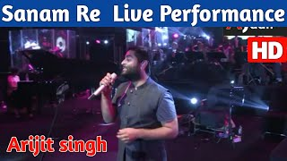 Gambar cover Sanam Re Live Performance By Arijit Singh || Arijit Singh Live Sanam Re || Sanam Re Live HD