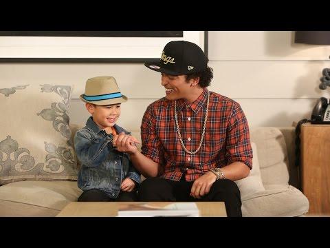 Bruno Mars Sings with Kai