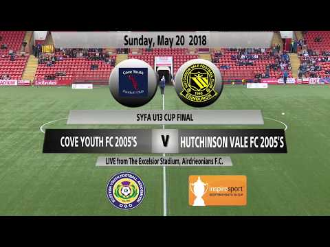SYFA U13s Cup Final: Cove Youth FC 2005's v Hutchinson Vale 2005's