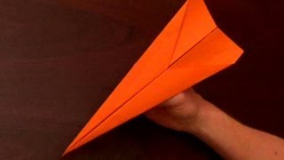 Fastest Flying Paper Airplane - The Dart,, The Fastest Paper Airplane