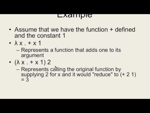 """CSE 340 F16: 11-14-16 """"Lambda Calculus Pt. 2"""""""