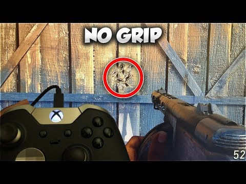 how i have little to NO RECOIL WITHOUT GRIP on COD WW2 w/ CONTROLLER CAM! (PS4/XBOX ONE Controller)
