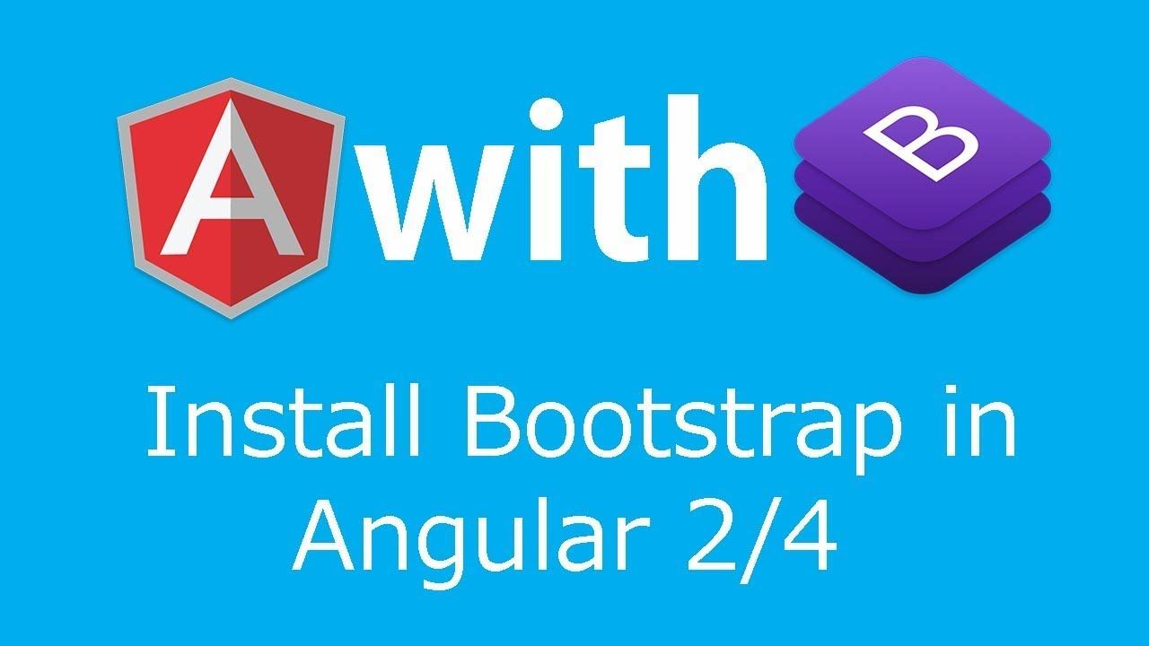 Add Bootstrap in Angular 4