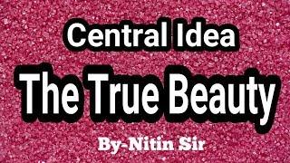 The True Beauty Central Idea