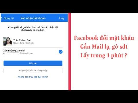 cách lấy lại tài khoản facebook khi bị hack pass - Cách lấy lại Facebook bị hack ,đổi mật khẩu, gắn Mail lạ mới nhất 2022 ( change password )