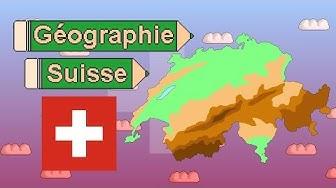 La géographie de la Suisse