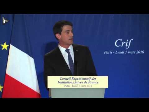 Quand Manuel Valls Compare Antisionisme Et Antisémitisme