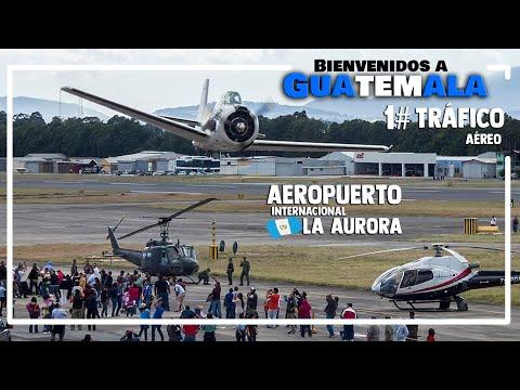 AEROPUERTO LA AURORA Bienvenidos a Guatemala volumen 1-  2014