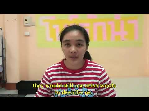 Interviews with Thai LGBT people