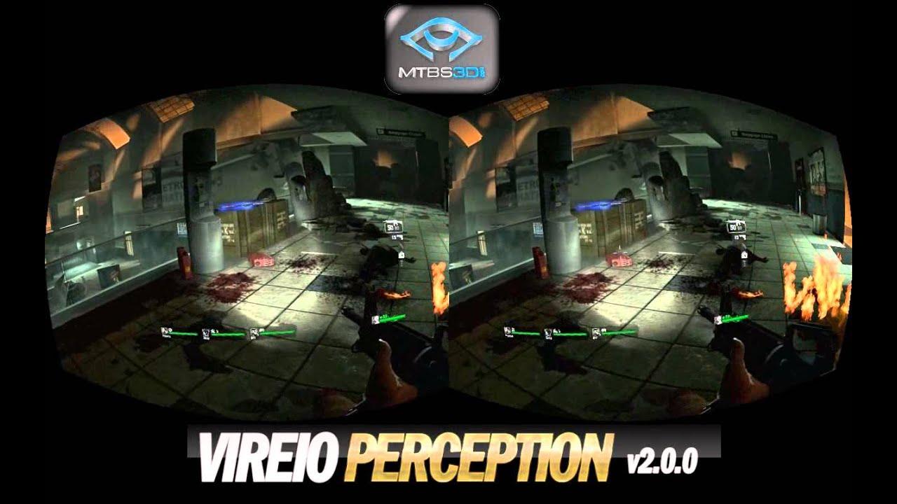 Vireio Perception 2 0 Left4Dead Demo