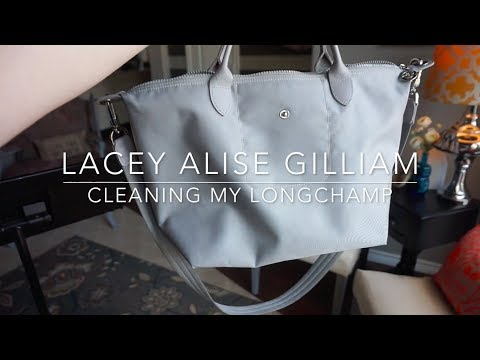 cleaning my longchamp | lacey alise gilliam