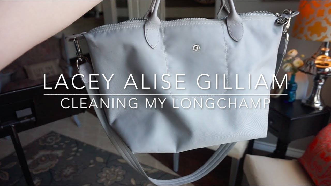 a30a6cd38a5 cleaning my longchamp | lacey alise gilliam - YouTube