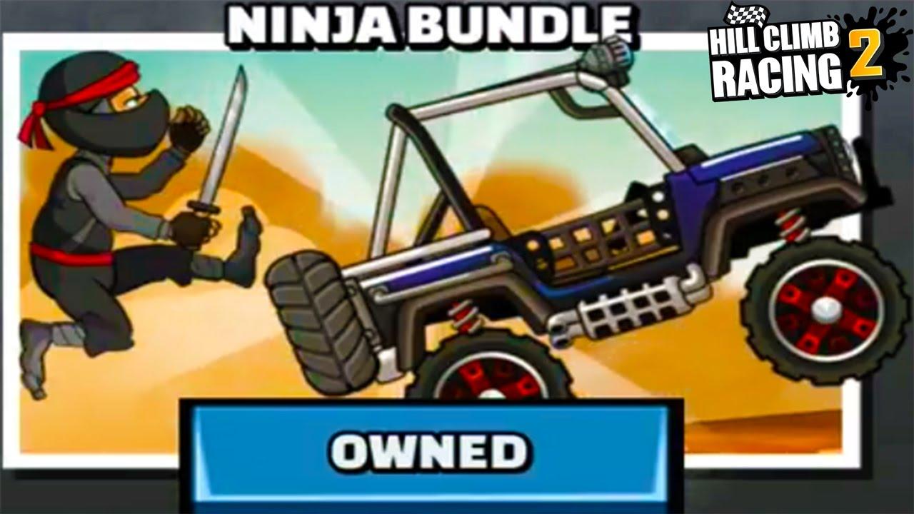 Hill Climb Racing 2 - New Vehicle Unlocked Ninja Bundle