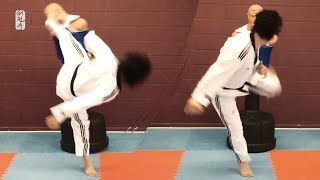 Top 3 Deadly Spinning Kicks in Taekwondo | TaekwonWoo
