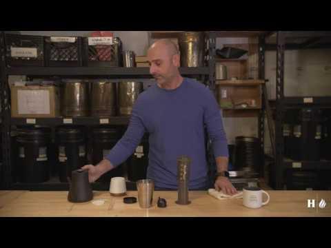 Henry's House of Coffee - How To Use An Aeropress