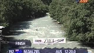 Landeck downriver world championships 1996: K1