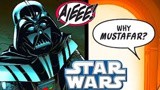 The REAL REASON Darth Vader Wanted Mustafar and What He Told Sidious! - Star Wars Comics Explained