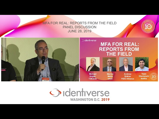 Intuit customer story - recorded at Identiverse 2019