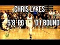 5'8 PG Chris Lykes Does Not Back Down From Anyone + He Can Dunk!