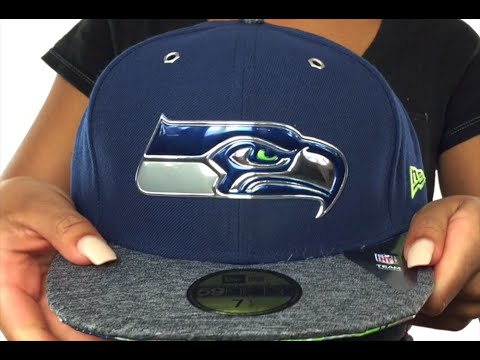 Seahawks  2016 NFL DRAFT  Fitted Hat by New Era - YouTube d0939870ae0
