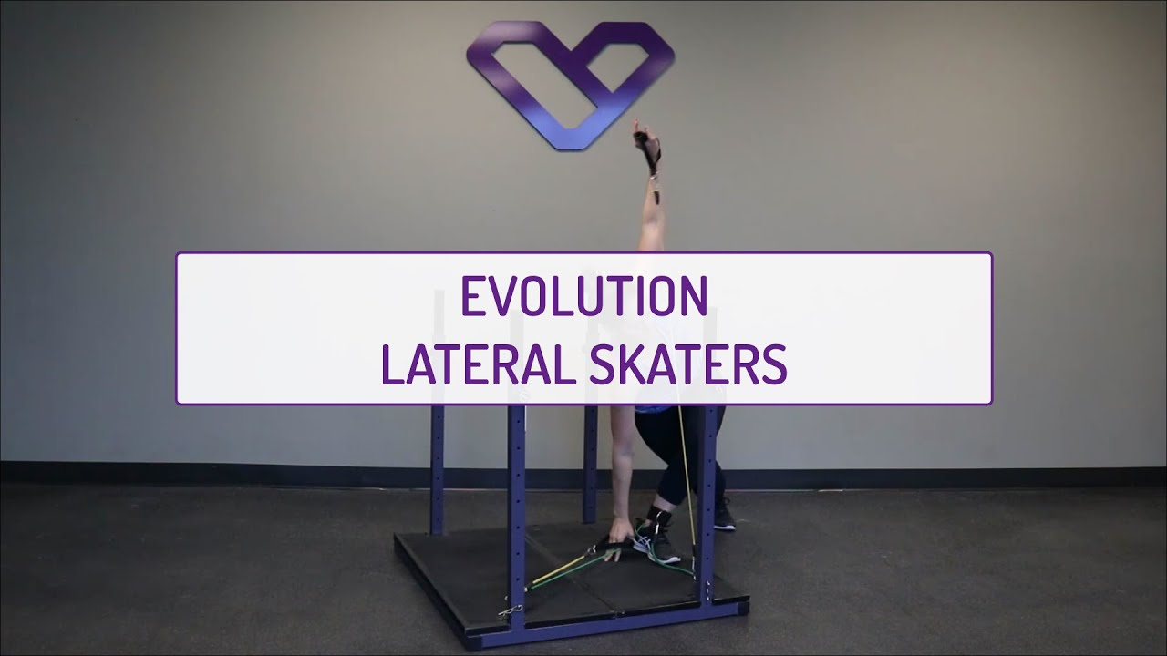 Home Exercises | Evolution Lateral Skaters | Cardio & Agility | Legs & Shoulders