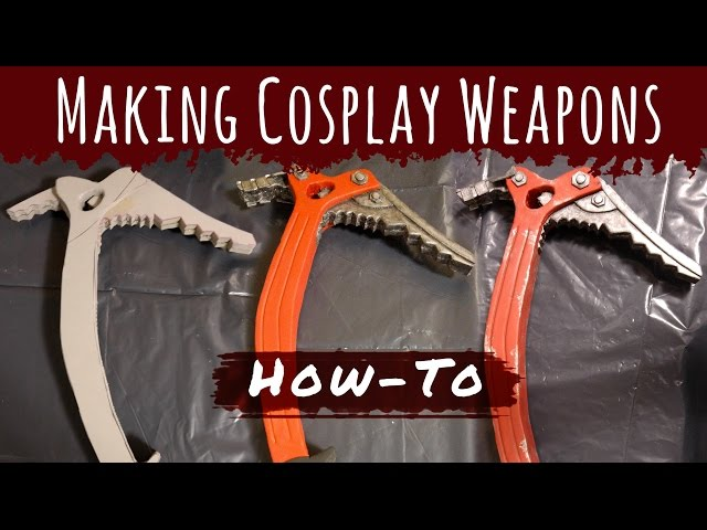 How To Make Cosplay Weapons Lara Croft Tomb Raider Ice Pick Axe