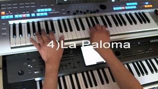 Repeat youtube video MEDLEY TANGO : Petite Fleur - La Paloma - A media Luz- Le tango nous invite - J'attendrai