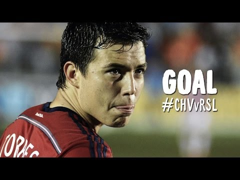 GOAL: Erick Torres does his best Cahill, volleys one home | Chivas USA vs Real Salt Lake