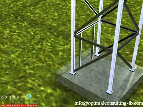 External Elevator Steel Structure Presentation Youtube