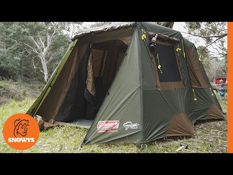 Coleman Instant Up Gold 8P Tent & Coleman Instant Up Gold 8P Tent - YouTube