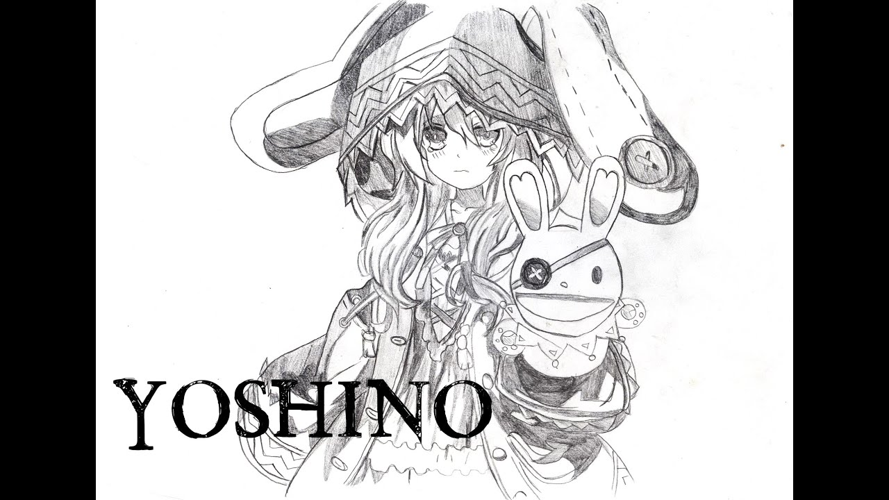 How I Draw Yoshino from Date A Live - YouTube