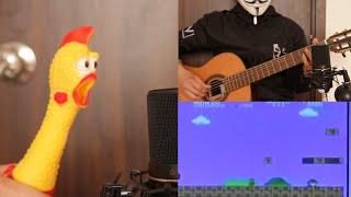 치킨 x 기타  마리오 레버 1