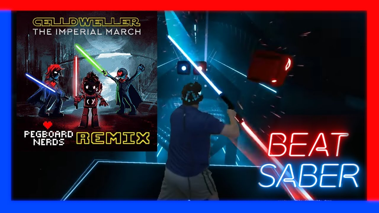 Beat Saber Custom Song - The Imperial March (Pegboard ...