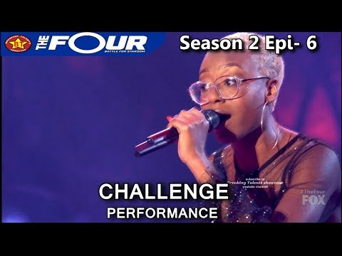 "Leah Jenea sings ""Call Out My Name"" Stunning Challenge Performance The Four Season 2 Ep 6 S2E6"