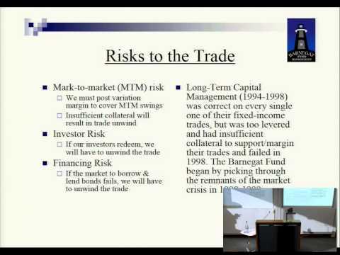 Oxford University (Fixed Income Arbitrage, Barnegat Fund Management, Bob Treue, Nov 10, 2010)