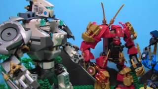 LEGO Ninjago Curse of Morro EPISODE 3 - Titan Mech Battle.wmv