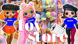 OMG Dolls Work At Toys R Us Store Zuru TOY Mini Brands Unboxing