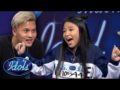 INCREDIBLE Young Singer Anneth Delliecia Auditions For Indonesian Idol Junior | Idols Global
