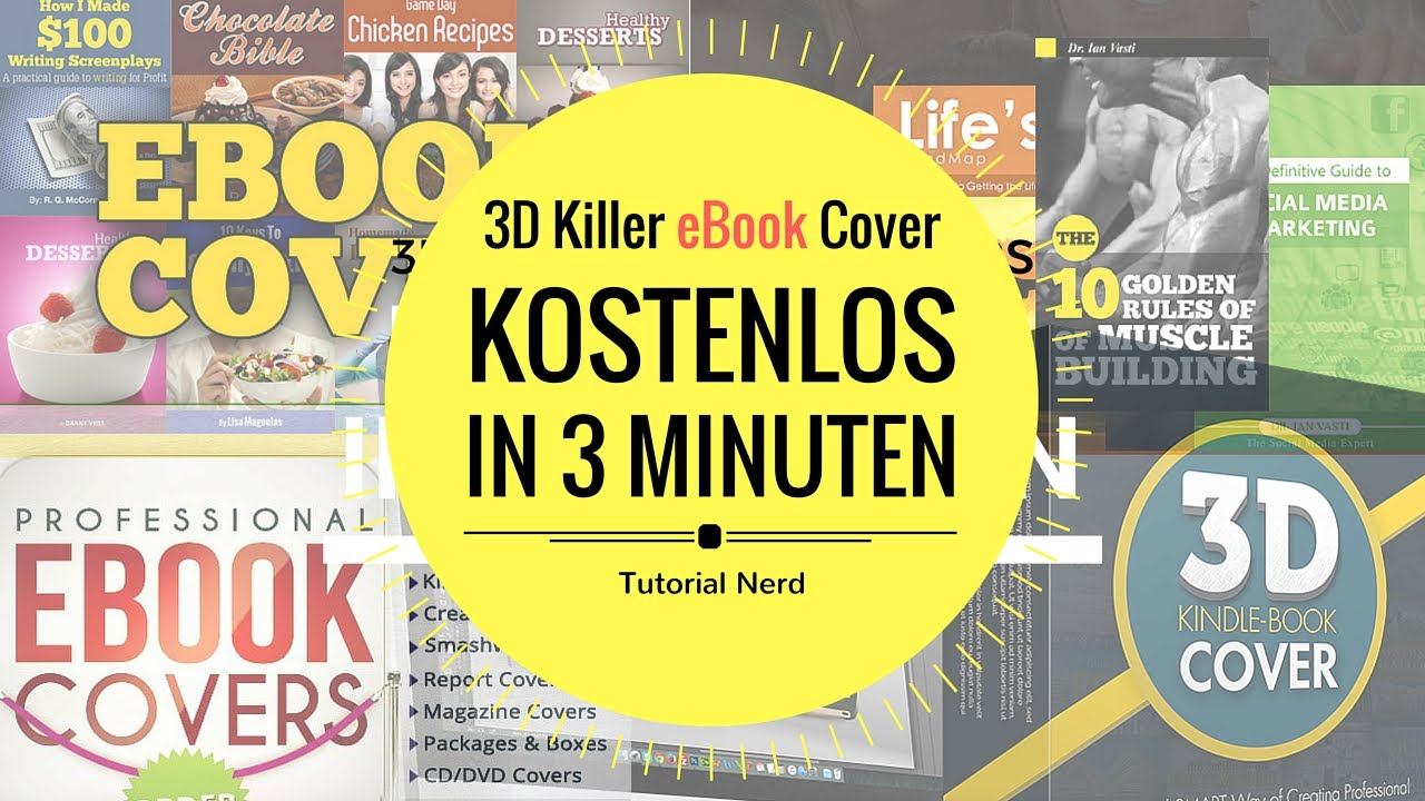 ▷ How To Create eBook Cover FREE In 3 Minutes 2017 HD Germany//USA ...