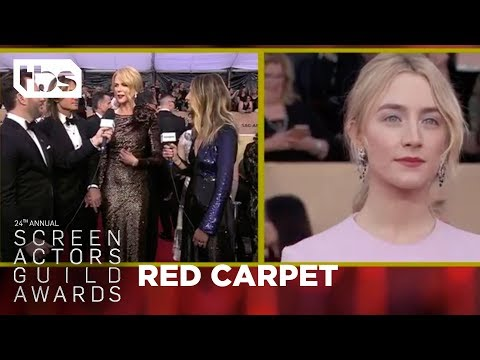 Nicole Kidman and Keith Urban: Red Carpet Interview | 24th Annual SAG Awards | TBS