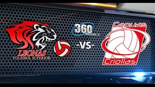 Ponce Leonas vs Caguas Criollas 4-23-2016 FPV LVSF www.360deportes.tv