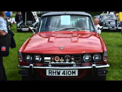 Raby Castle - Vintage Classic Car Show 2013