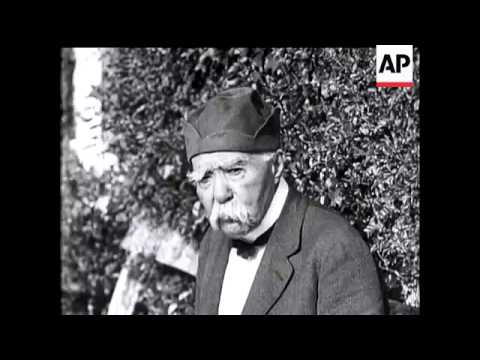 M Georges Clemenceau