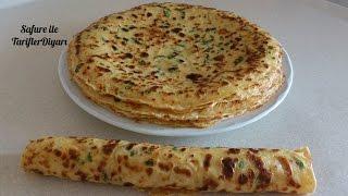 Sebzeli Krep Tarifi - Kahvaltılık Sebzeli Krep Nasıl Yapılır - Kolay Tarifler